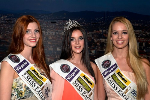 2. Laura Stocker, Siegerin Lisa Steiner, 3. Doris Tanasic, Foto: Mitterer
