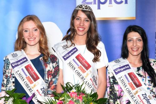 2. Rebecca Braunhofer,, Siegerin Ramona Götz, 3. Jacqueline Auer, Foto: Fritz Mitterer