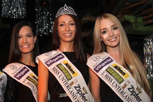 2. Sonja Posch, Siegerin Aleksandra Radenkovic, 3. Tamara Strasser, Foto: kimages